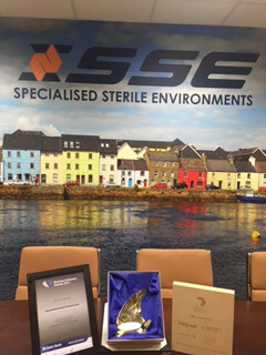 SSE Cleaning Ulster Bank Award 2015